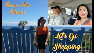 Travel Vlog Filipina Married To American Life In America   We Have To  Shopping Unplanned Beach Trip