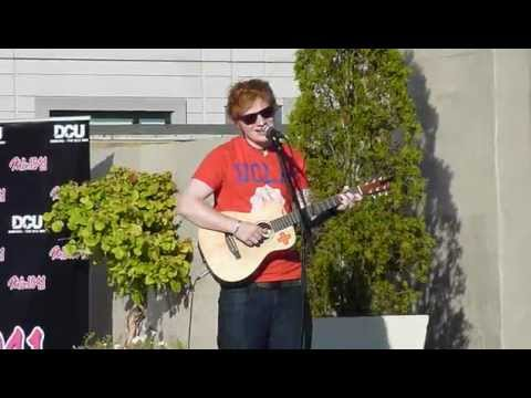 Ed Sheeran - To Make You Feel My Love Cover @ Colonnade Rooftop Pool Boston