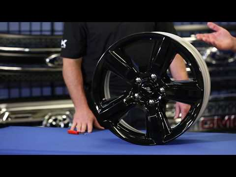 Installation of the IMP408BLK - Wheel Skin for the Ford Mustang
