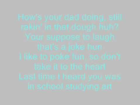 Down With Webster - Rich Girl$ lyrics