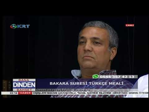 Bana Dinden Bahset - İhsan Eliaçık - 25 Mayıs 2018 - KRT TV