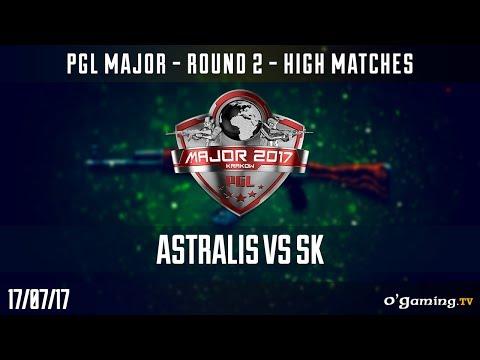Astralis vs SK - PGL Major Krakow 2017 - Round 2 High Matches - CS GO