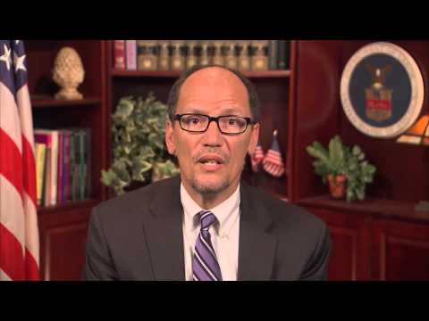 Event Video Greeting - U.S. Department of Labor Secretary Thomas Perez