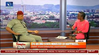 Happiness Ministry: Imo People Happy With Developments-- Aide