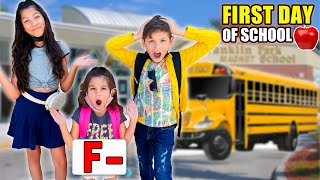 GOING BACK TO SCHOOL After a Whole YEAR! *GONE WRONG* | Familia Diamond