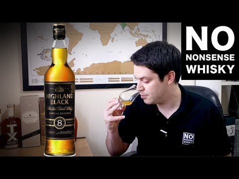 Highland Black 8 Year Aldi Whisky | No Nonsense Whisky #107