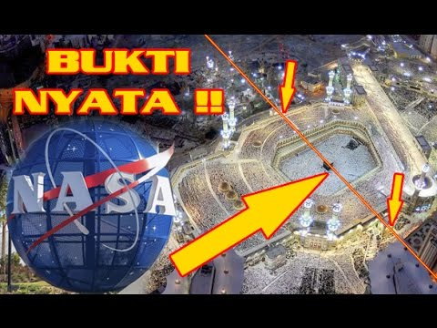"""MASYALLAH !!! """"NAS4 G00gle Earth"""" Membuktikan """"KEBENARAN"""" Nabi Muhammad SAW - Berita Islam Terkini"""