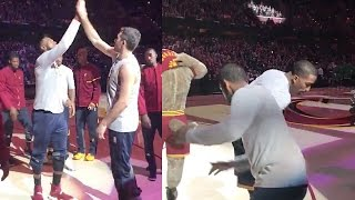 Cleveland Cavaliers' Hilarious & Awesome Pregame Handshakes