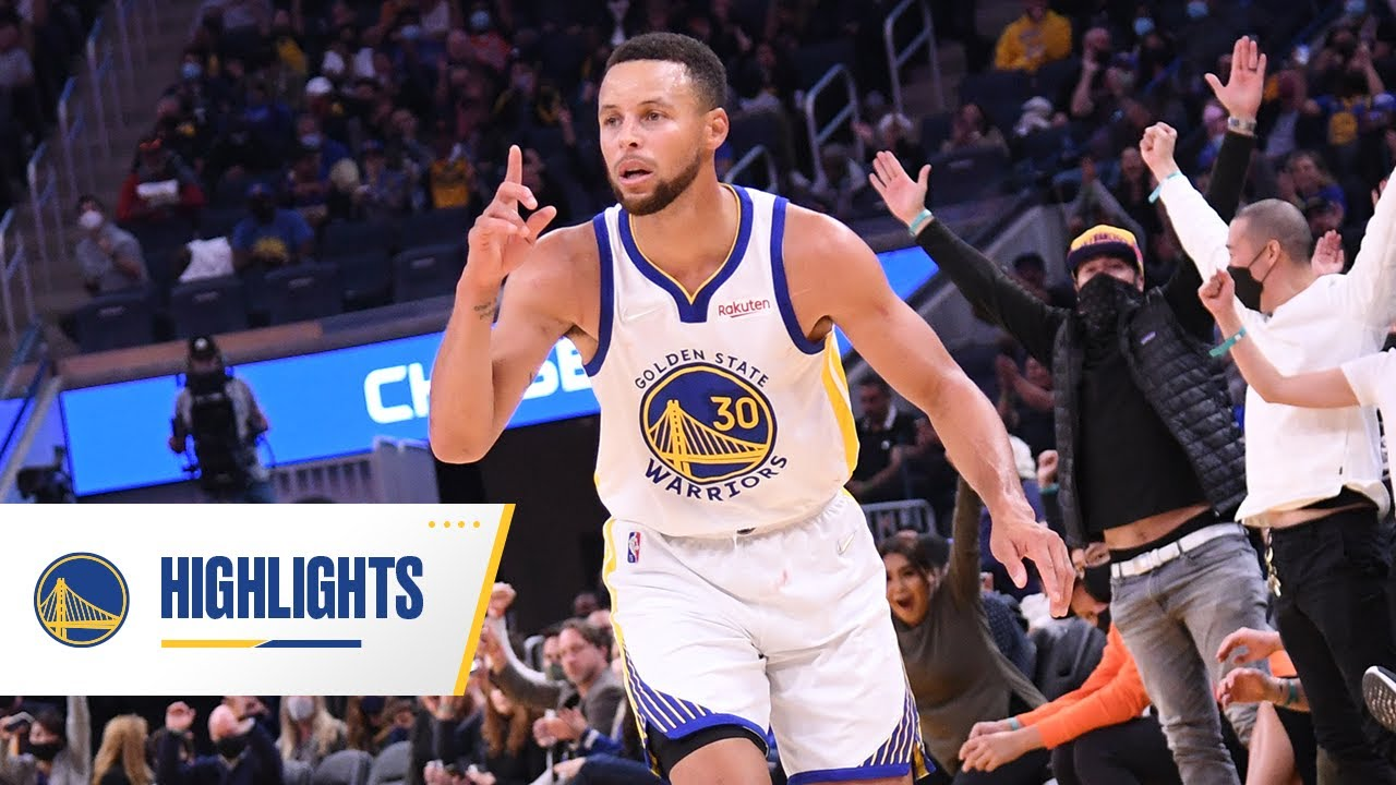 Watch Stephen Curry drop 30 on Lakers in Warriors' preseason win