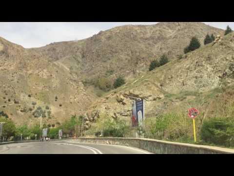 Iran (part 3):  Tehran, Museums, Mountains