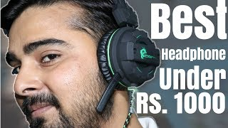 Dragon War Gaming Headphone Unboxing & Review 2018 I Best Gaming Headphone Under Rs. 1000 (HINDI)