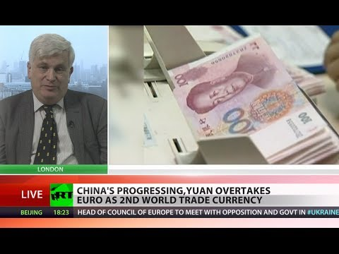 Yay to Yuan! Chinese currency overtakes euro in trade