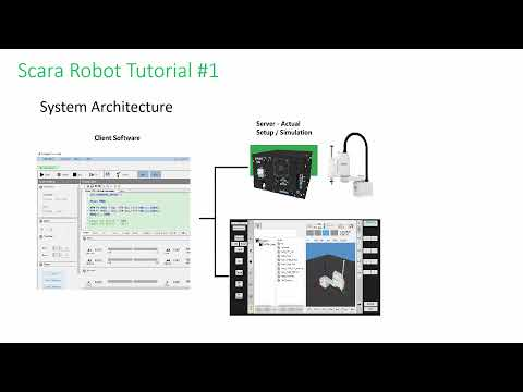 HIWIN Scara Robot Tutorial 1 - Simulation Setup