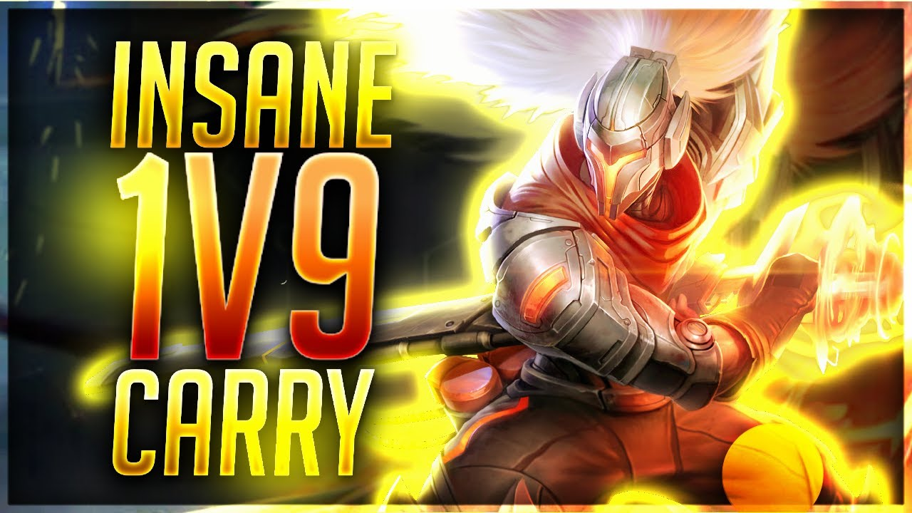 Yasuostyle L Insane Yasuo 1v9 Carry Youtube