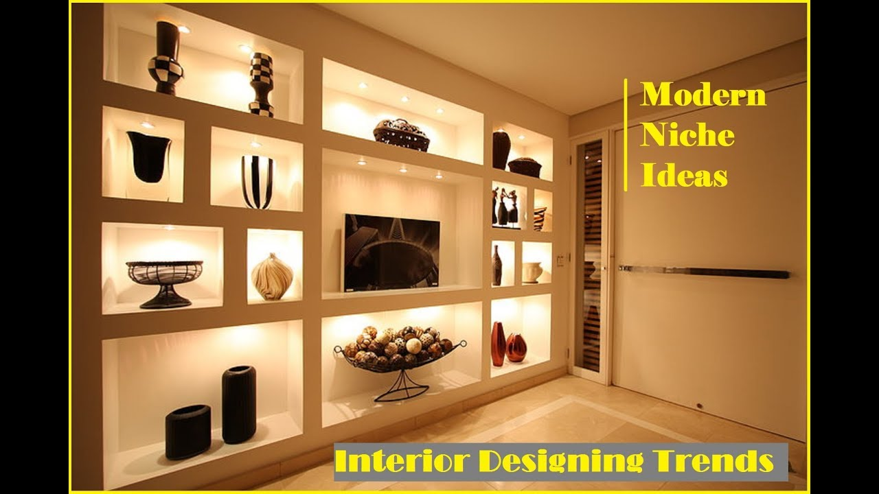 Top 35 Modern Wall Niche Ideas | Cool Interior Design ...