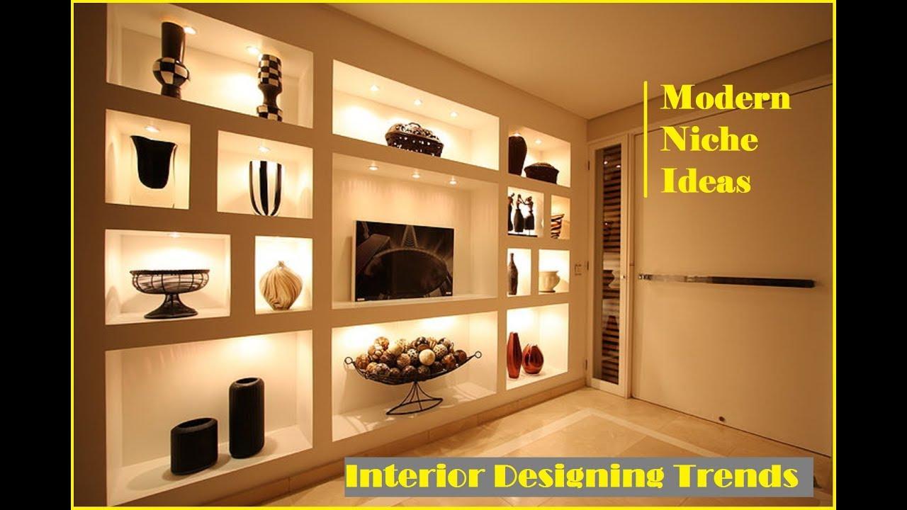 Top 35 modern wall niche ideas cool interior design ideas
