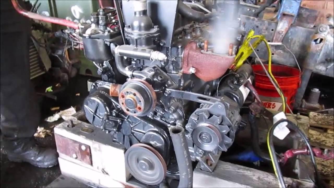 Isuzu C240 4cyl Diesel Engine Industrial