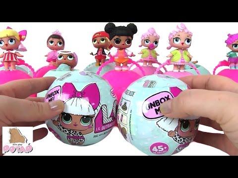 Видео для Детей. Сюрприз Игрушки. Игрушки Куклы. LOL BABY SURPRISE DOLLS Игрушки для Девочек