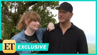 Chris Pratt On Playing With His Son On The Set Of Jurassic World: Fallen Kingdom (Exclusive)