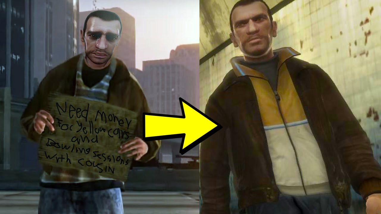 is this gta 5 hobo actually niko bellic youtube