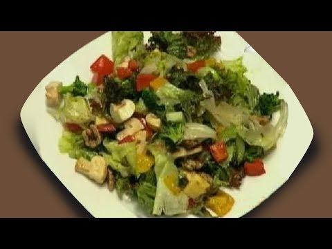 Healthy Salad Recipe   Salad In Balsamic Dressing   Sanjeev Kapoor   Khana Khazana