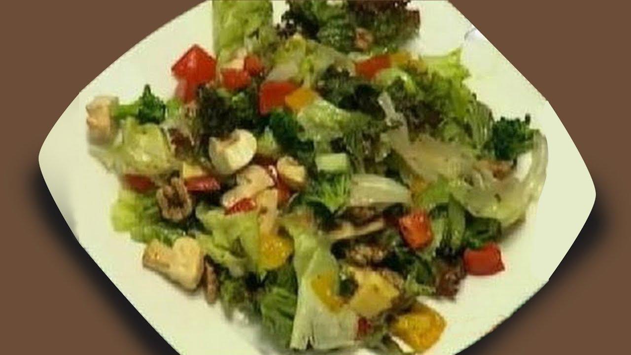 Healthy Salad Recipe Salad In Balsamic Dressing Sanjeev Kapoor Khana Khazana Easy Salad Recipes