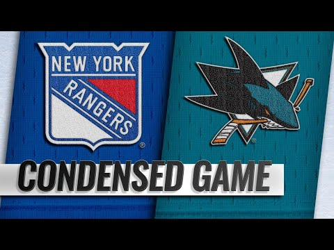 10/30/18 Condensed Game: Rangers @ Sharks