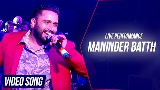Maninder Batth Live Performance At Batth Records'S Launching Ceremony 2016