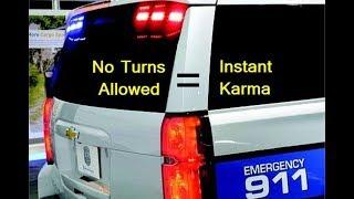 No Turns = Instant Karma