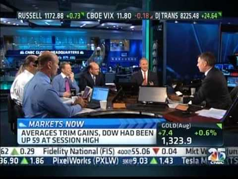 CNBC's Halftime Report - Live in Studio with True Fiduciary & Barron's Top 100 Advisor, Paul Pagnato