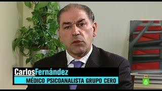 """El psicoanalista Carlos Fernández: """"Aguirre se encuentra en un estado de enajenación mental fuerte"""""""