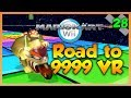 Mario Kart Wii Custom Tracks - I DON'T WANNA GET REDDED! - Road To 9999 VR | Ep. 28