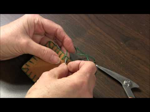 Blanket Stitch - How To End The Blanket Stitch