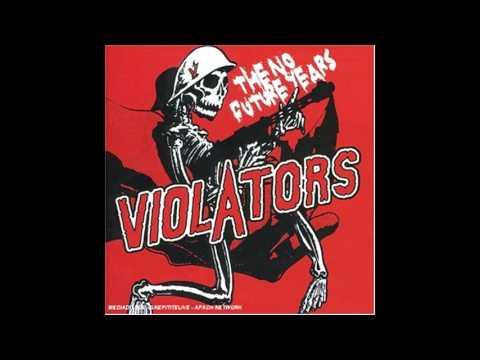Violators (1994) - The No Future Years - Full Album - PUNK 100%