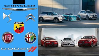 Today we look at the merger between fca and groupe psa, otherwise known as stellantis. this includes 14 brands: abarth, alfa romeo, chrysler, citroën,...