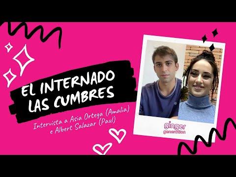 El Internado Las Cumbres: Parlano Asia Ortega (Amaia) e Albert Salazar (Paul) | Intervista