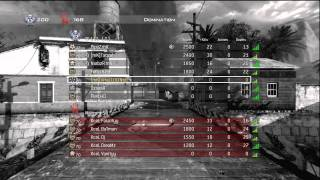 mK vs XceL 2-0 | MW2 Competitive