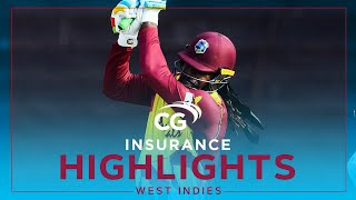 Extended Highlights | West Indies vs South Africa | Lewis Half Century! | 5th CG Insurance T20I 2021