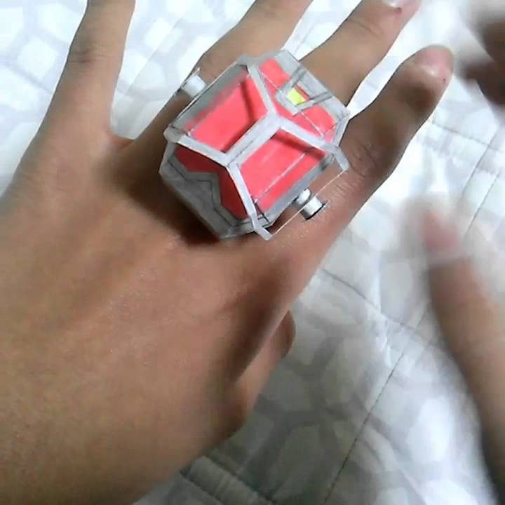 Paper Flame Wizard Ring Kamen Rider Wizard Youtube