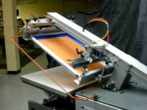 Screen Printing Equipment - Mini Printer-ASI With Quick Adjust Table