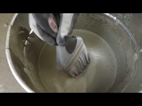 видео: Применение эластичной цементной гидроизоляции серии MasterSeal