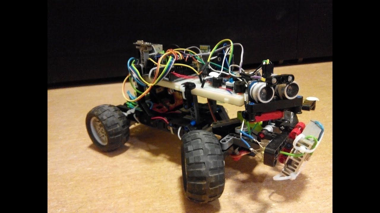 Rc robot lego arduino youtube
