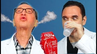 Dentists Burn Their Mouths with Paqui One Chip Challenge 🔥Carolina Reaper Pepper