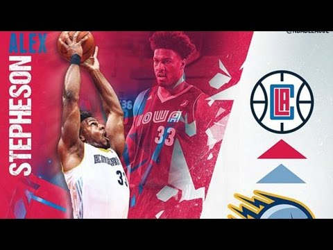 NBA D-League Gatorade Call-Up: Alex Stepheson to the Los Angeles Clippers
