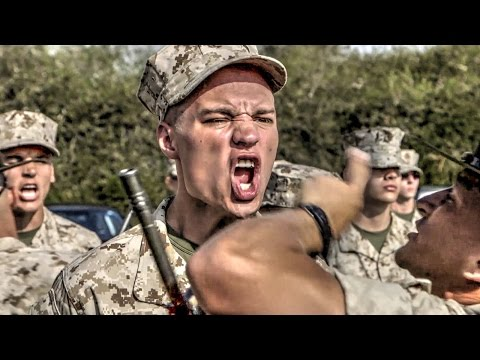 USMC Recruit Training – Senior Drill Instructor (SDI) Inspection