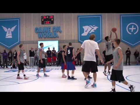 buy popular 0b4c2 07fda Dirk Nowitzki Joins Nike Basketball Berlin 5 on 5 - YouTube