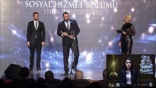 """3. Engelsiz Sanat Ödülleri""""Yılın Üniversitesi Ödülü"""" Gümüşhane Üniversitesi Sosyal Hizmet Bölümü"""