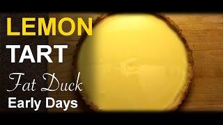 Lemon Tart: Heston Blumenthal Cookbook