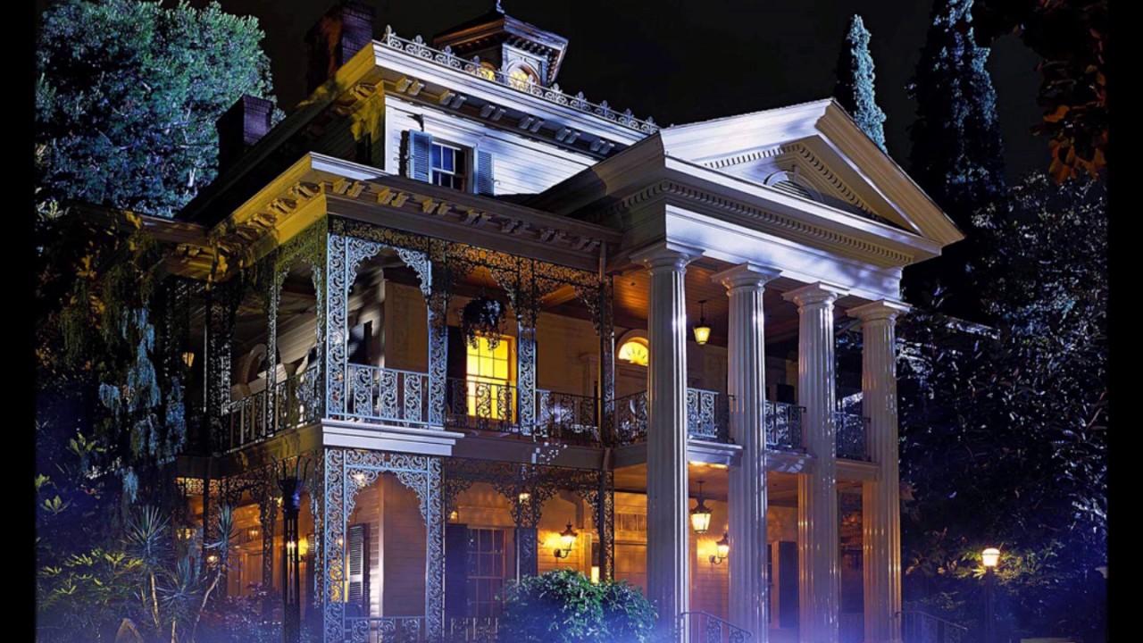Haunted Mansion Foyer : Haunted mansion foyer music w thunder and rain sounds
