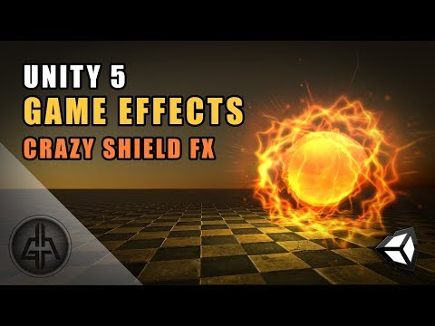 Unity 5 - Game Effects VFX - Shield Effect